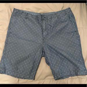Calvin Klein Jeans Shorts - Calvin Klein patterned chino shorts